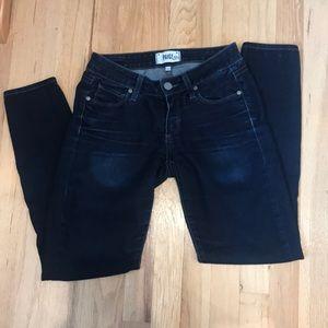 Paige Verdugo Ultra Skinny Jeans.  Size 25